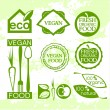 Ecological icons — Vector de stock #36037021