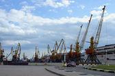 Cargo port in Odessa — Stock Photo