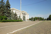 House of Trade Unions, Odessa, 14 June 2014 — Stock Photo