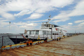 "Ship ""Sevastopol"" at the dock  Odessa, Ukraine, June 14, 2014 — Stock Photo"