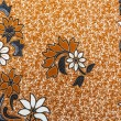 Beautiful Asian Floral Batik Patterns & Motifs — Stock Photo