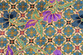Beautiful Indonesia Floral Batik Patterns & Motifs — Stock Photo
