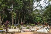 A Muslim Cemetery park. — Stock Photo