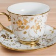 Fancy Cup & Saucer Isolated — Photo #34414939