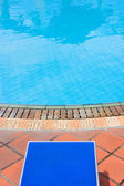 By the Pool — Stockfoto