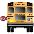 School Bus — Vettoriali Stock