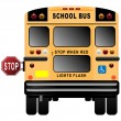 School Bus — Stock vektor