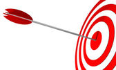 Bullseye — Stock Photo