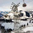 Gondola in Swiss Alps — Foto Stock