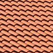 Stock Photo: Tiled Roof Top