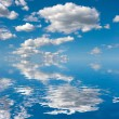 Sky on Water — Stock Photo