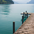 Pier by the Lake — Stock Photo