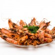 Prawn Dish — Stock Photo