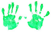 Handprints — Stock Photo