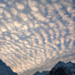 Stock Photo: Alpen Sky