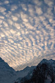 Alpen Sky — Stock Photo