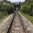 Rifle Range Road Railway Track and Bridge — Stockfoto