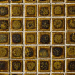 Brown mosaic tiles  — Stock Photo