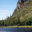 Headland over Snake River — Stock Photo