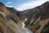 Yellowstone Grand Canyon — Stock Photo