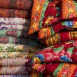 Colourful Indian cloths — Stock Photo