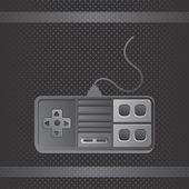 Video game console theme — Stock Vector
