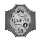 Video game console theme — Vecteur