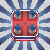 Camera device theme — Stock vektor