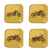 Motorcycle theme — Stock Vector