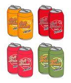 Soft drink can — Cтоковый вектор