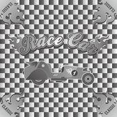 Retro car art theme — Stock Vector
