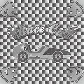 Retro car art theme — Vettoriale Stock