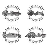 Retro car art theme — Vetorial Stock