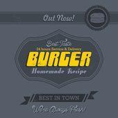 Restaurant art page — Stock Vector