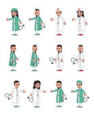 Medical doctor cartoon — Stock Vector