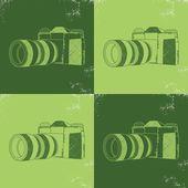Photography camera — Stock Vector