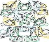 Shoe set — Stock Vector