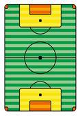 Grunge futbol oyun alanı — Stok Vektör