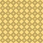 Yellow rhombus pattern — Stock Vector