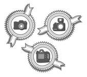 Ensemble d'appareil photo — Vecteur