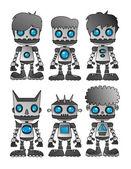 Robot thema — Stockvector