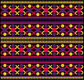 Motif de la tribu indigène — Vecteur