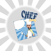 Chef cartoon — Stockvektor
