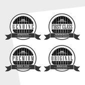 Genuine badge — Stock Vector