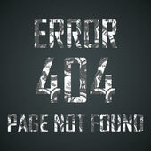 Error 404 — Stock Vector