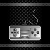 Game stick icon button — Stock Vector