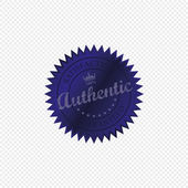 Authentic — Stock Vector