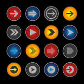 Arrow Button Set — Vecteur