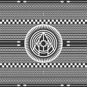 Art amérindien modèle — Vecteur
