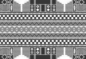 Modèle d'art amérindien — Vecteur